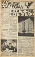 Parkside Collegian, Volume 1, issue 11, April 6, 1970