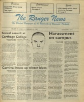 The Ranger News, Volume 25, issue 19, February 20, 1997