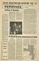 Parkside's Newscope, Volume 6, issue 7, February 21, 1972