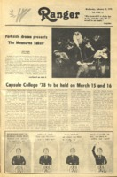 The Parkside Ranger, Volume 6, issue 22, February 22, 1978