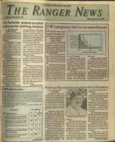 The Ranger News, Volume 20, issue 12, November 14, 1991