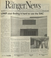 The Ranger News, Volume 33, issue 4, October 24, 2002