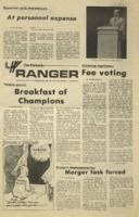 The Parkside Ranger, Volume 3, issue 21, January 22, 1975
