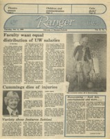 The Parkside Ranger, Volume 13, issue 6, October 11, 1984