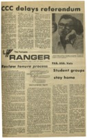 The Parkside Ranger, Volume 3, issue 7, September 18, 1974