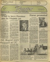 The Parkside Ranger, Volume 13, issue 17, January 31, 1985