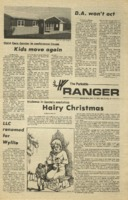 The Parkside Ranger, Volume 3, issue 19, December 11, 1974