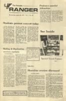 The Parkside Ranger, Volume 1, issue 26, April 18, 1973
