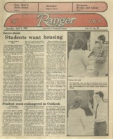 The Parkside Ranger, Volume 13, issue 25, April 4, 1985