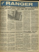 The Parkside Ranger, Volume 16, issue 27, April 14, 1988