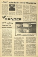 The Parkside Ranger, Volume 2, issue 23, March 6, 1974