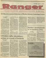 The Parkside Ranger, Volume 18, issue 25, April 5, 1990