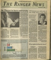 The Ranger News, Volume 20, issue 11, November 7, 1991