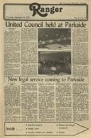 The Parkside Ranger, Volume 11, issue 3, September 23, 1982