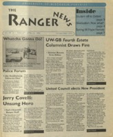 Ranger , Volume 24, issue 27, April 25, 1996