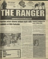 The Ranger , Volume 27, issue 18, March 4, 1999