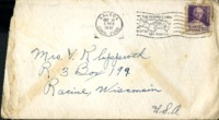 Letter from Daniel Klapproth to his mother while stationed in Fort Amador, Canal Zone, October 8, 1941