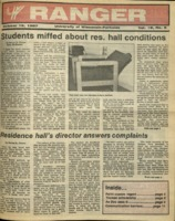 The Parkside Ranger, Volume 16, issue 6, October 15, 1987
