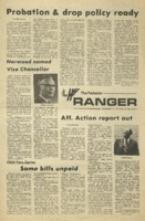 The Parkside Ranger, Volume 3, issue 15, November 13, 1974