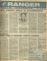 The Parkside Ranger, Volume 16, issue 15, December 18, 1987