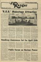 The Parkside Ranger, Volume 7, issue 28, April 18, 1979