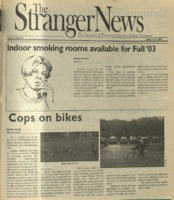 The Stranger News, Volume 33, issue 11, April 1, 2003