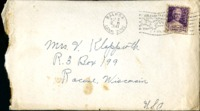 Letter from Daniel Klapproth to his mother while stationed in Fort Amador, Canal Zone, August 31, 1941