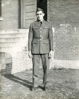 A photograph of Daniel Klapproth in full uniform