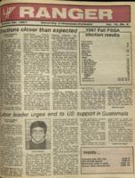 The Parkside Ranger, Volume 16, issue 9, October 29, 1987