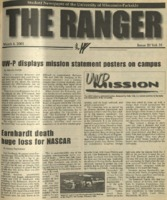 The Ranger , Volume 31, issue 20, March 1, 2001