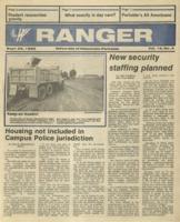 The Parkside Ranger, Volume 15, issue 4, September 25, 1986