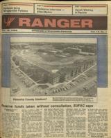 The Parkside Ranger, Volume 15, issue 7, October 16, 1986