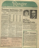 The Parkside Ranger, Volume 12, issue 1, September 8, 1983