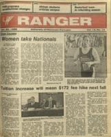 The Parkside Ranger, Volume 15, issue 12, November 20, 1986