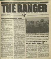 The Ranger , Volume 30, issue 10, November 16, 2000