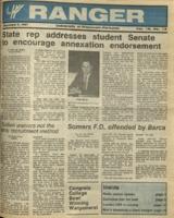 The Parkside Ranger, Volume 16, issue 13, December 3, 1987