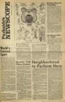 Parkside's Newscope, Volume 2, Issue 8, November 16, 1970