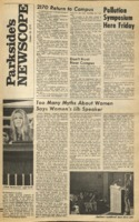 Parkside's Newscope, Volume 2, Issue 5, October 26, 1970