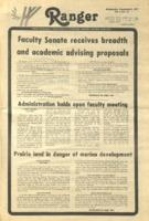 The Parkside Ranger, Volume 6, issue 11, November 9, 1977
