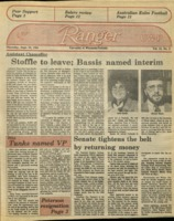 The Parkside Ranger, Volume 13, issue 2, September 13, 1984
