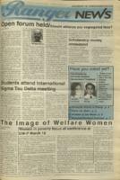 Ranger News, Volume 23, issue 22, March 9, 1995