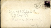 Letter from Daniel Klapproth to his mother while stationed in Fort Amador, Canal Zone, July 7, 1940