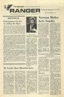 The Parkside Ranger, Volume 1, issue 1, September 27, 1972