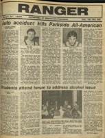 The Parkside Ranger, Volume 16, issue 25, March 31, 1988