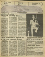 The Parkside Ranger, Volume 13, issue 7, October 18, 1984