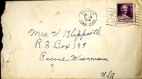 Letter from Daniel Klapproth to his mother while stationed in Fort Amador, Canal Zone, July 4, 1941