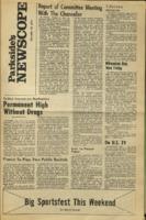 Parkside's Newscope, Volume 2, Issue 10, November 30, 1970