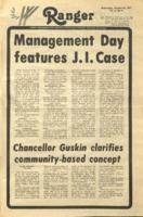 The Parkside Ranger, Volume 6, issue 9, October 26, 1977