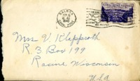Letter from Daniel Klapproth to his mother while stationed in Fort Amador, Canal Zone, September 15, 1940