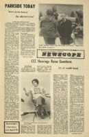 Parkside's Newscope, Volume 6, issue 12, March 27, 1972